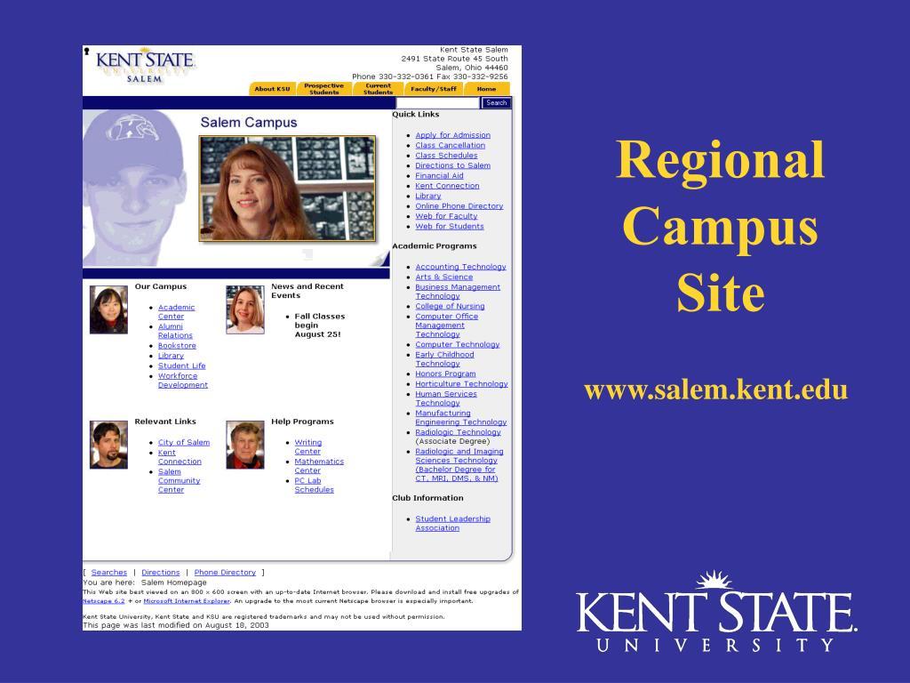 Regional Campus Site