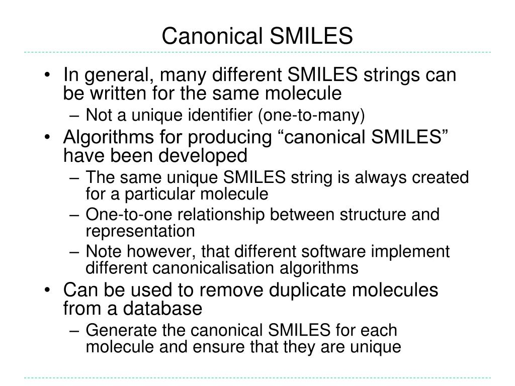 Canonical SMILES