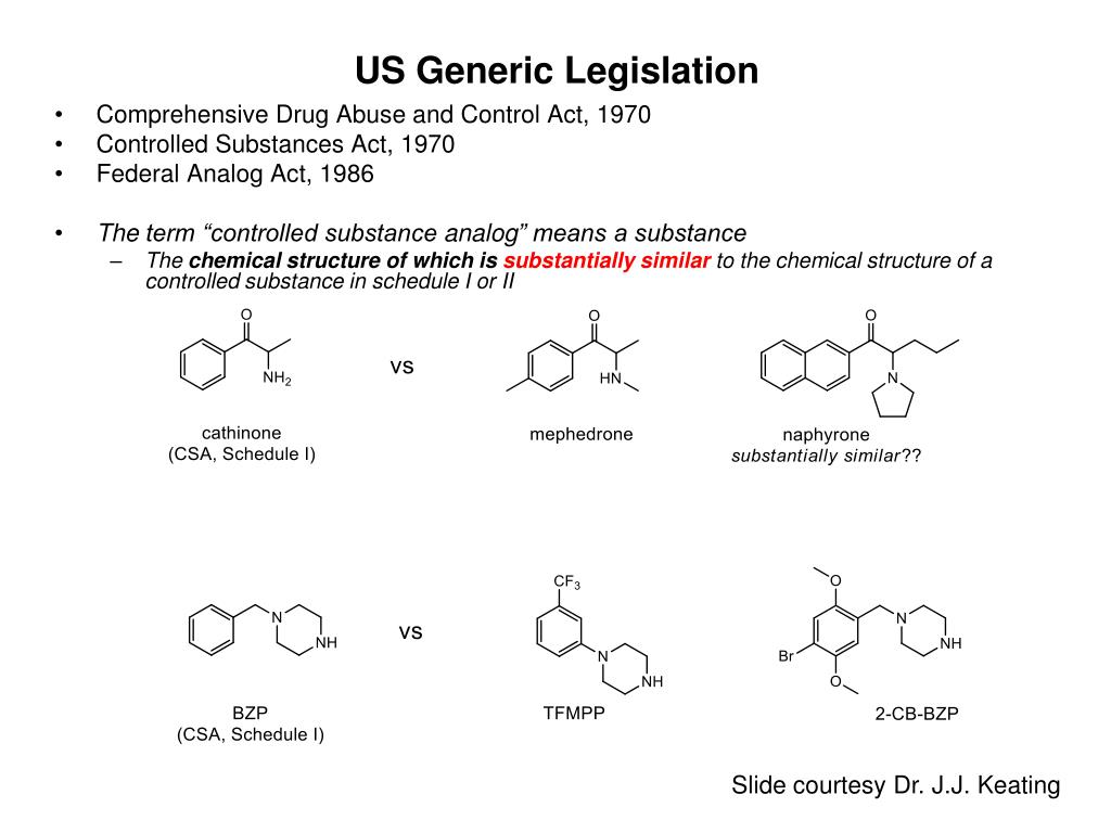 US Generic Legislation