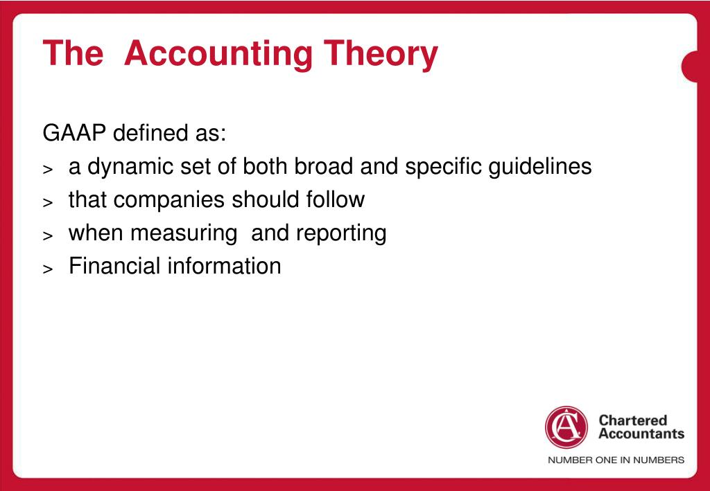 The  Accounting Theory