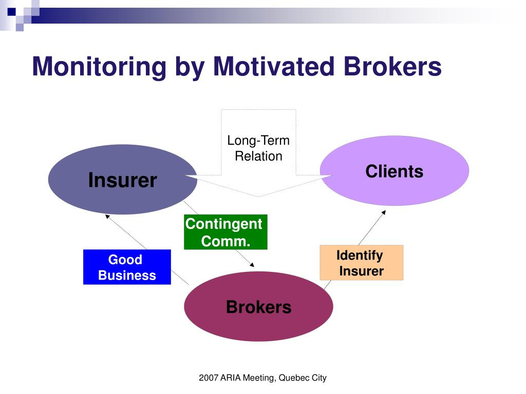 Monitoring by Motivated Brokers