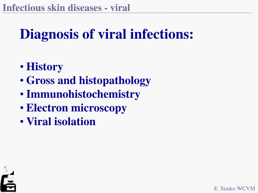 Infectious skin diseases - viral