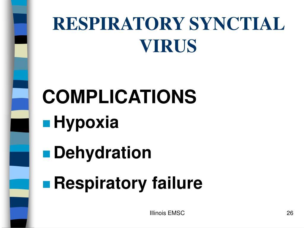 RESPIRATORY SYNCTIAL VIRUS