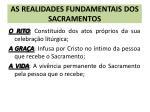 as realidades fundamentais dos sacramentos