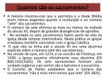 quantos s o os sacramentos