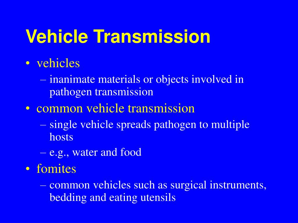 Vehicle Transmission