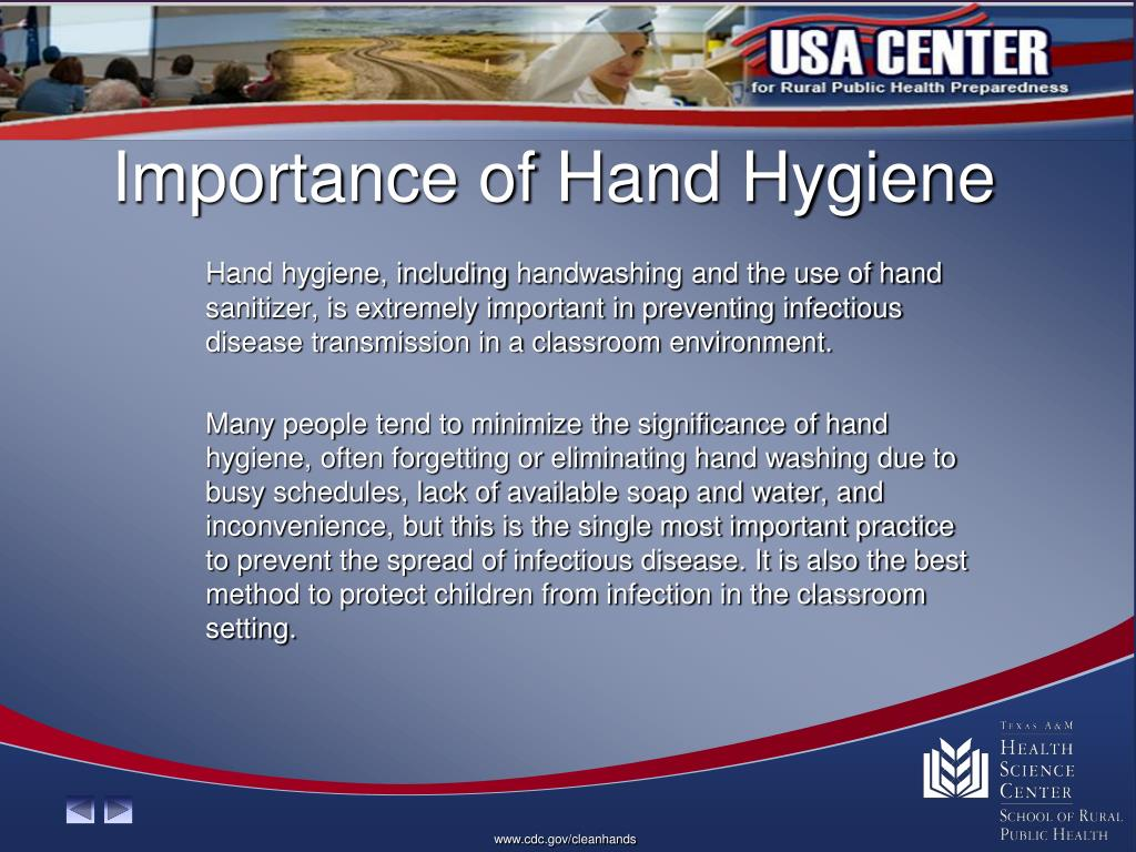 Importance of Hand Hygiene