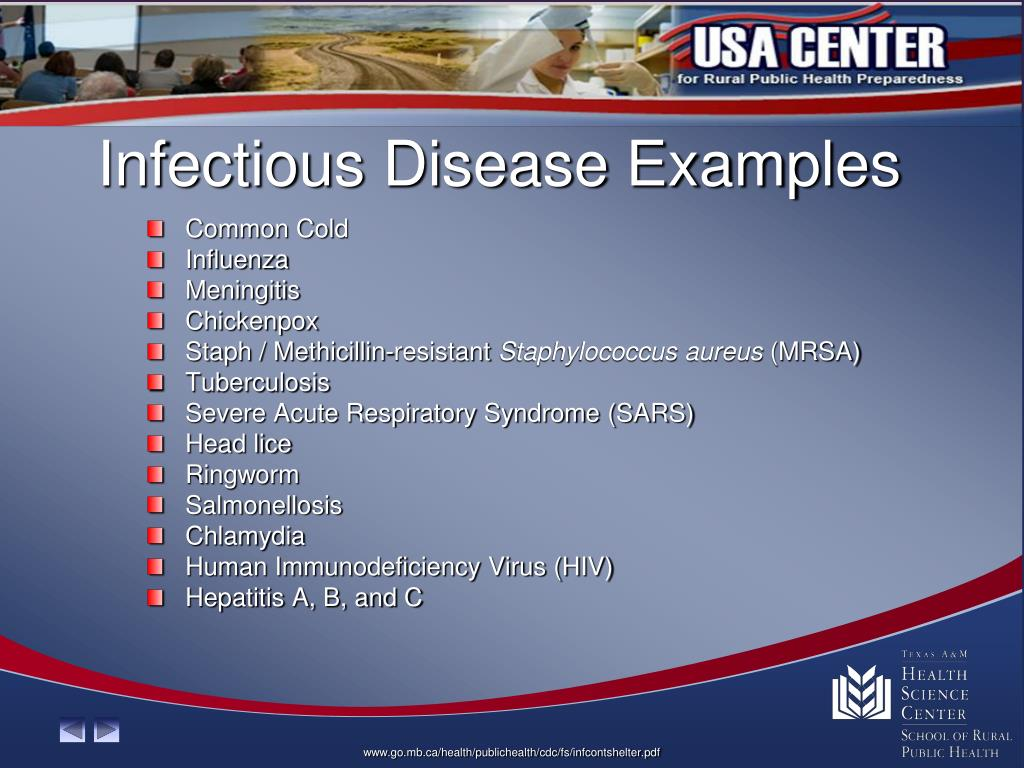 Infectious Disease Examples