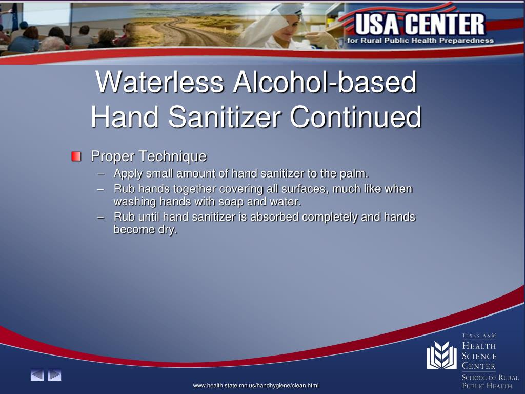 Waterless Alcohol-based