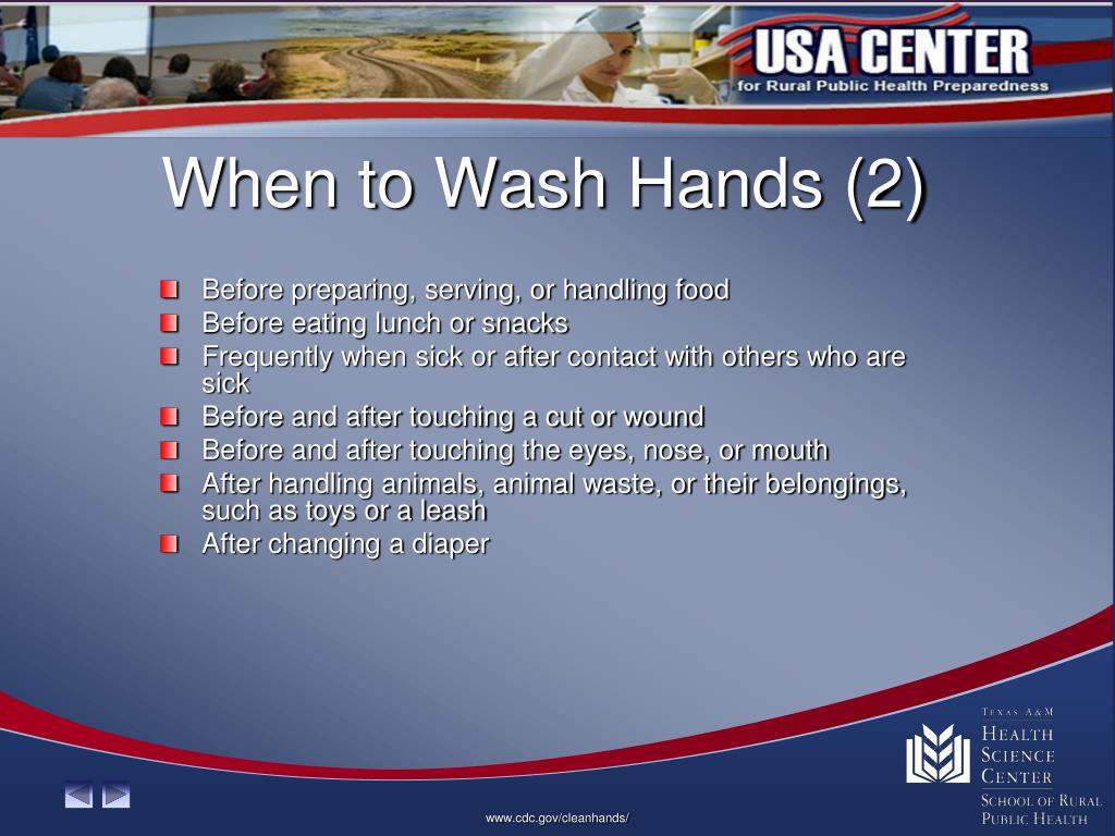 When to Wash Hands (2)