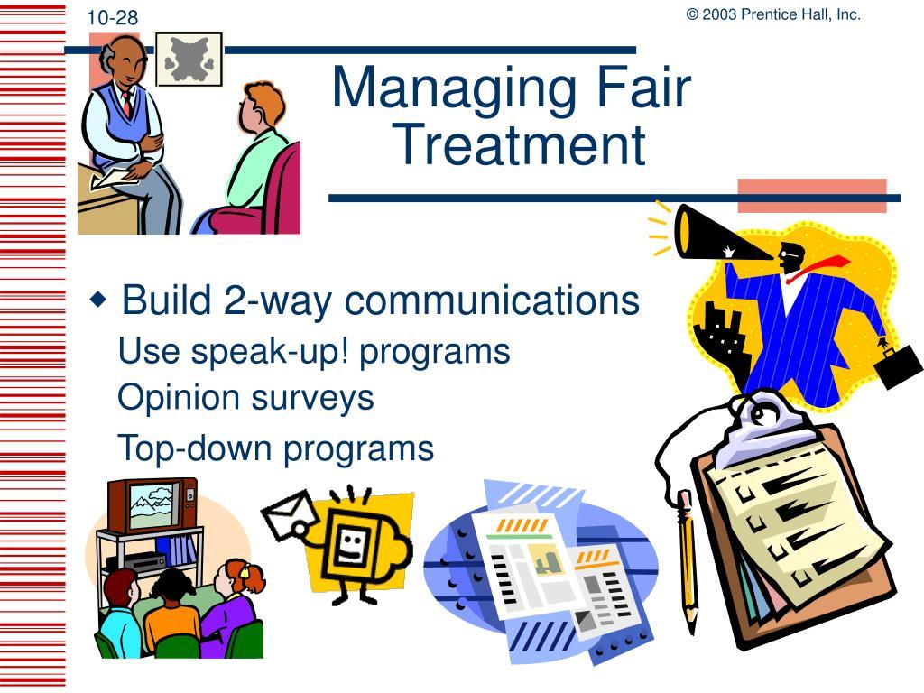 Managing Fair