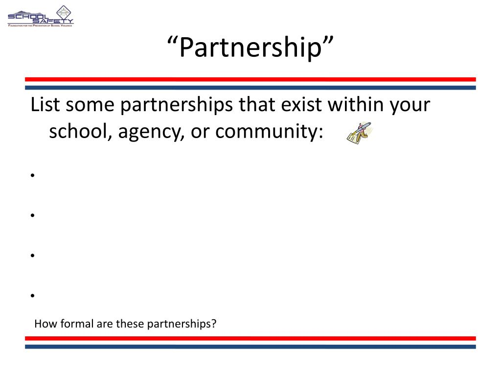 """Partnership"""