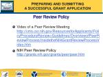 peer review policy