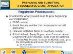 registration process cont54