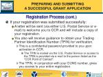 registration process cont55