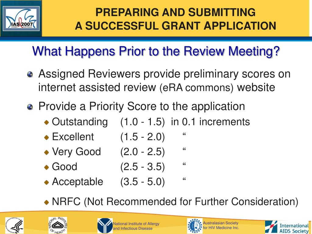 What Happens Prior to the Review Meeting?