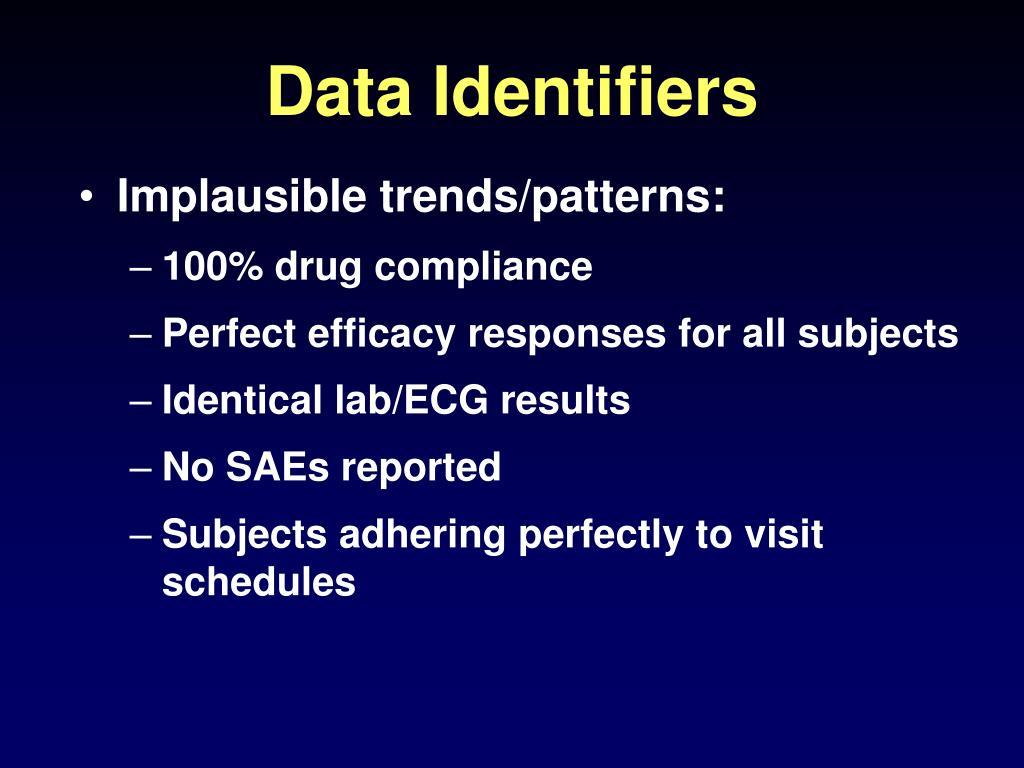 Data Identifiers