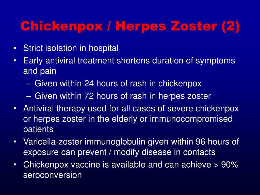 Chickenpox / Herpes Zoster (2)