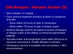 chickenpox herpes zoster 2