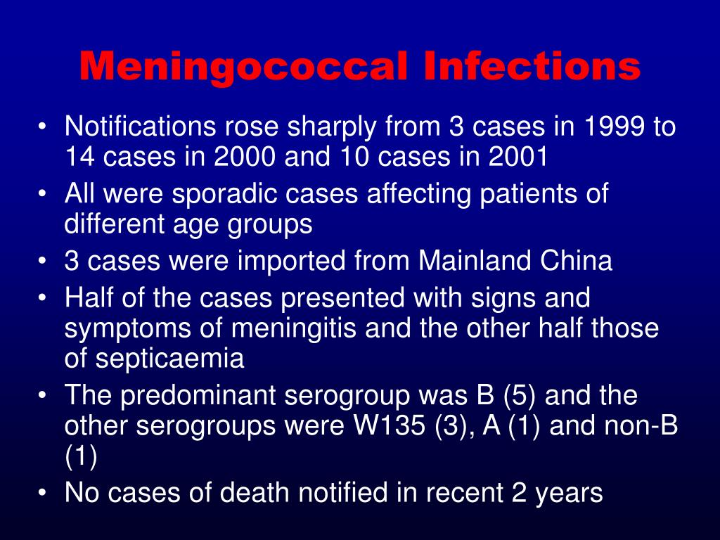 Meningococcal Infections