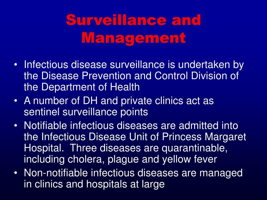 Surveillance and Management