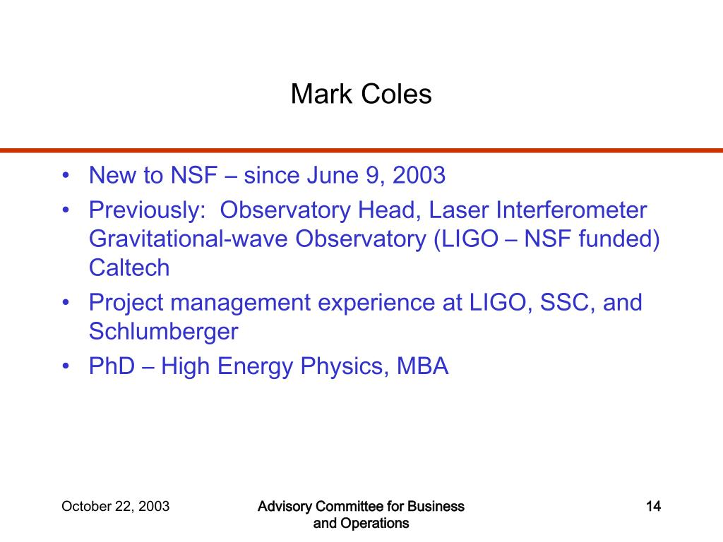 Mark Coles