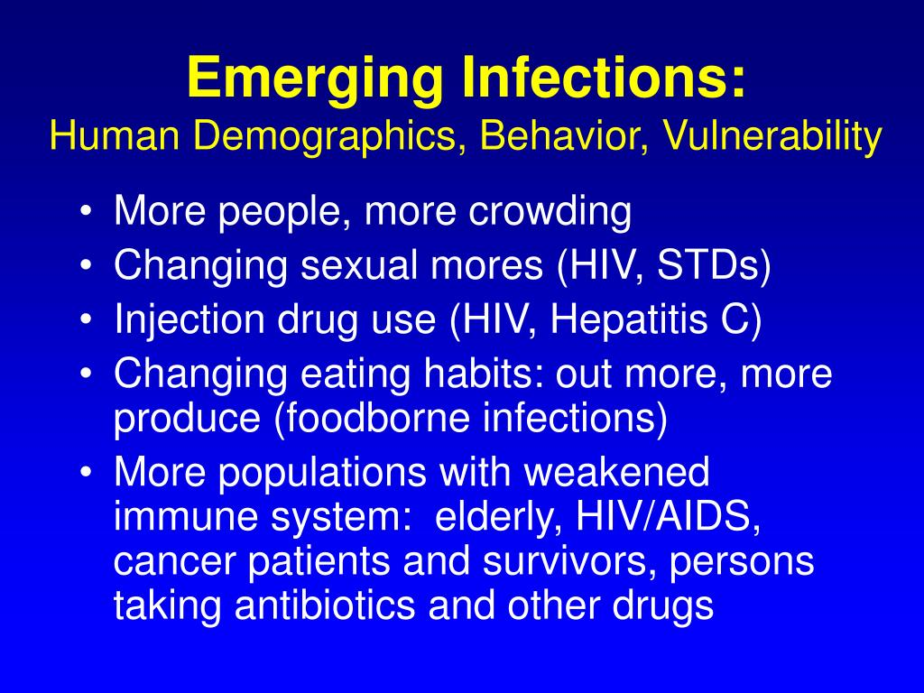 Emerging Infections: