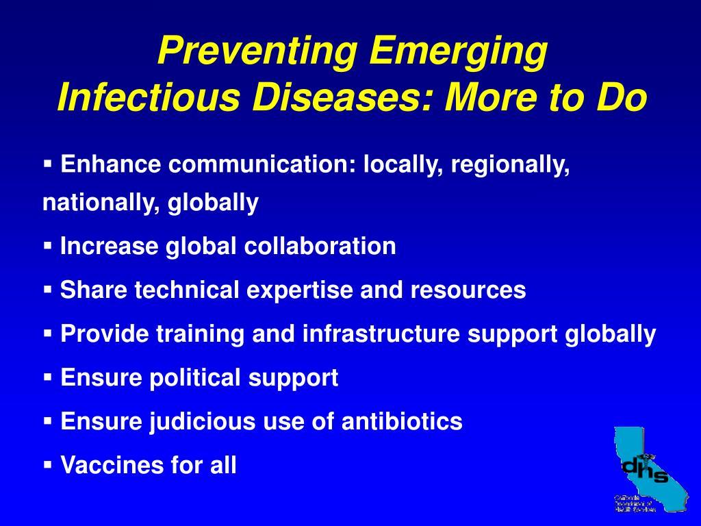 Preventing Emerging