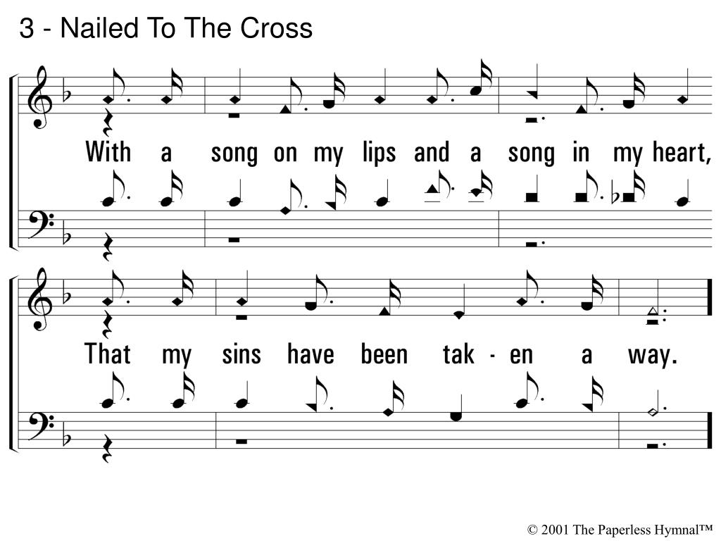 3 - Nailed To The Cross