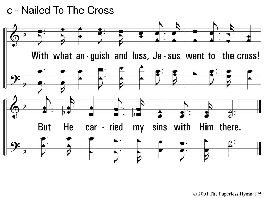 c - Nailed To The Cross