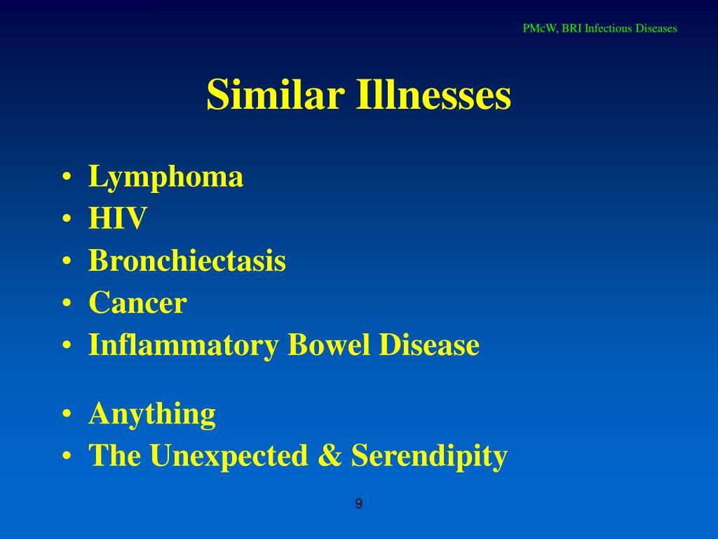 Similar Illnesses