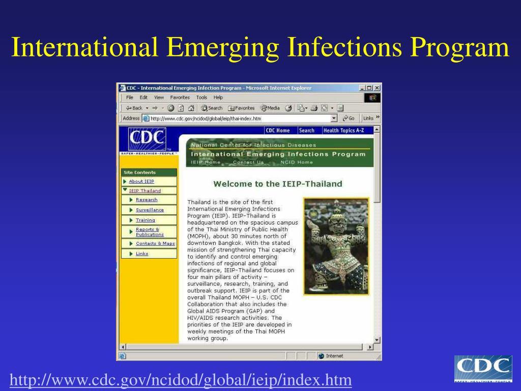 International Emerging Infections Program