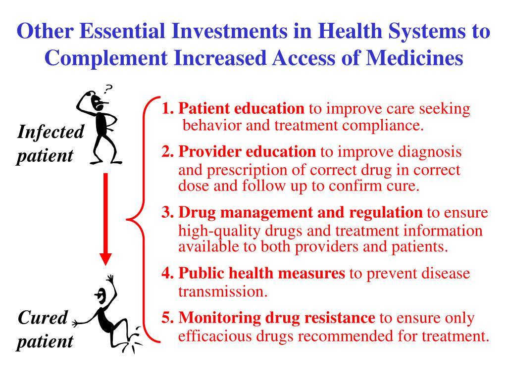 Other Essential Investments in Health Systems to Complement Increased Access of Medicines