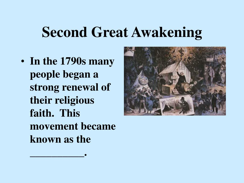 an analysis of the second awakening in the 19th century How critical was the second great awakening to the reforms of the 19th century  religion and reform in 19th century america  nationalhumanitiescenterorg 5.