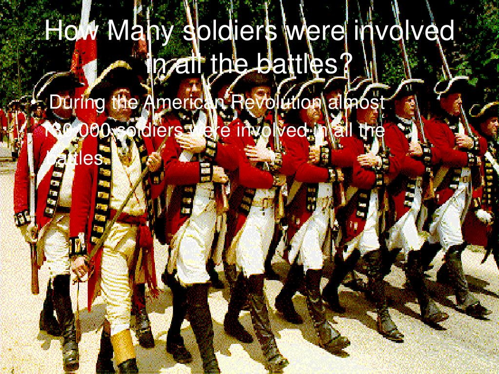 How Many soldiers were involved in all the battles?