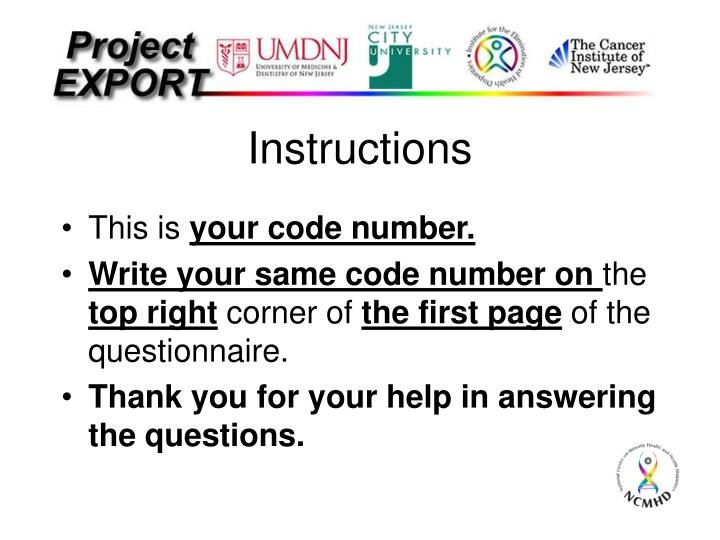 Instructions2