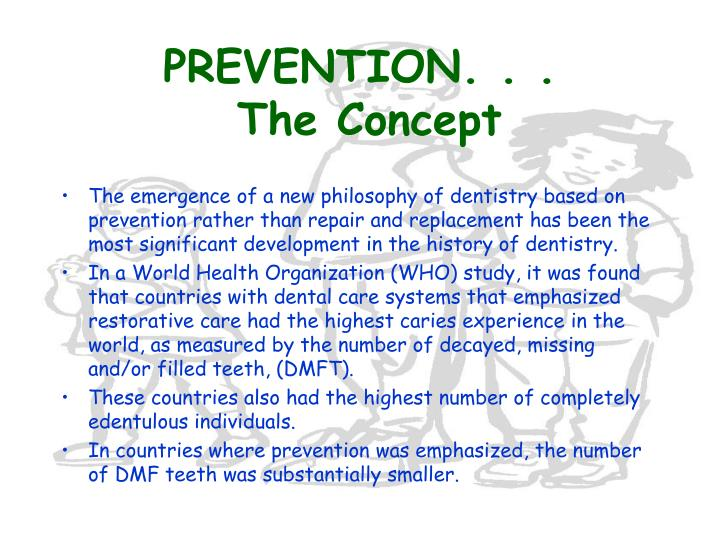 Prevention the concept