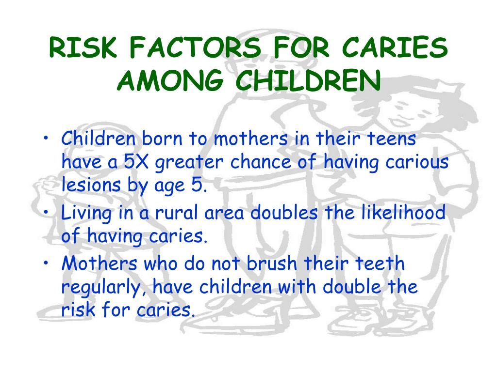 RISK FACTORS FOR CARIES AMONG CHILDREN
