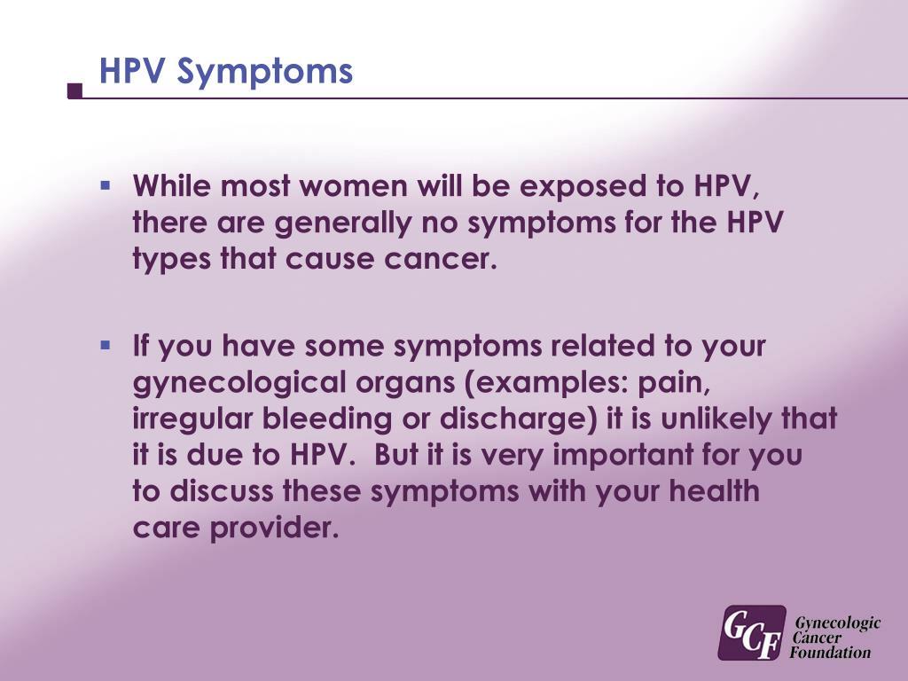 HPV Symptoms