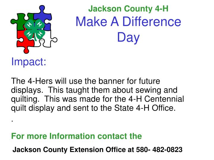 Jackson County 4-H