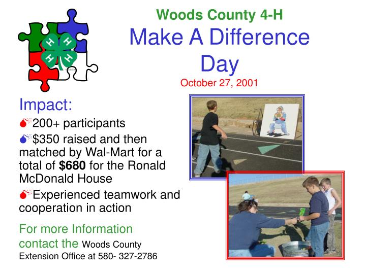 Woods County 4-H