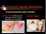 cervical cancer detection