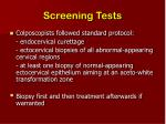 screening tests13