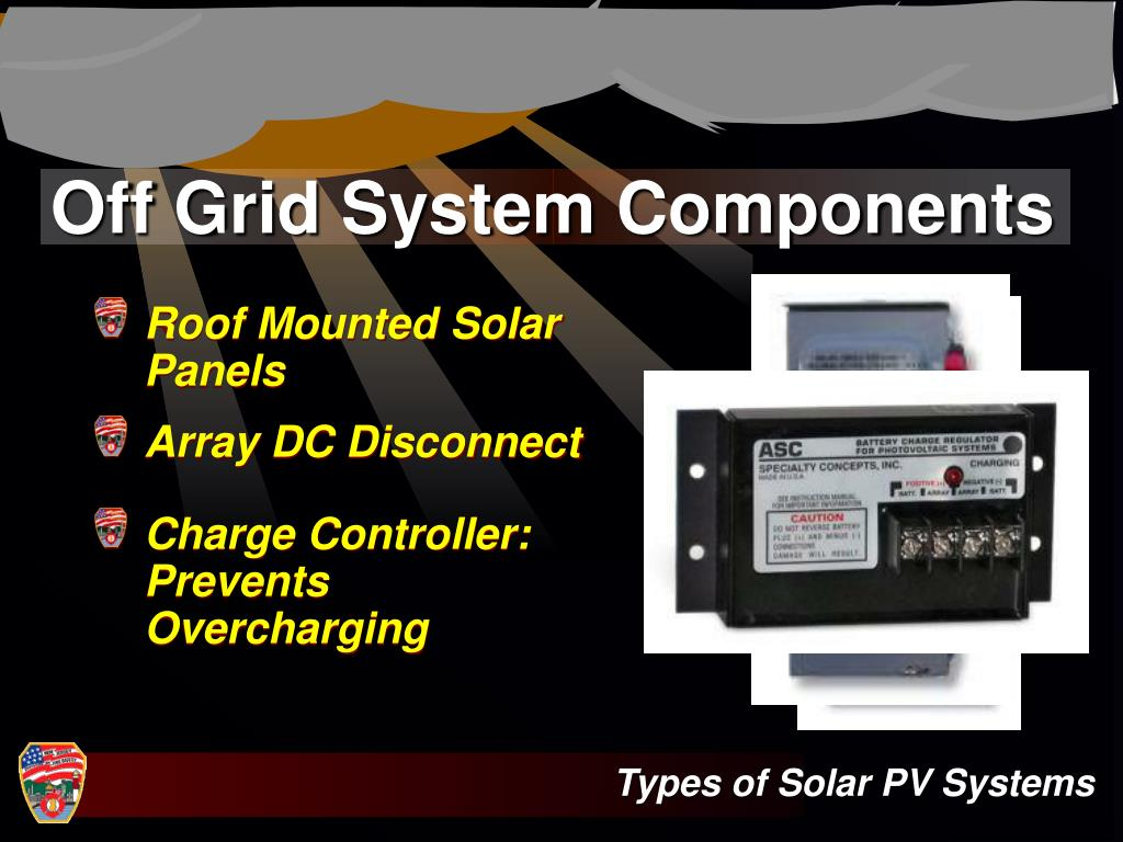 Off Grid System Components