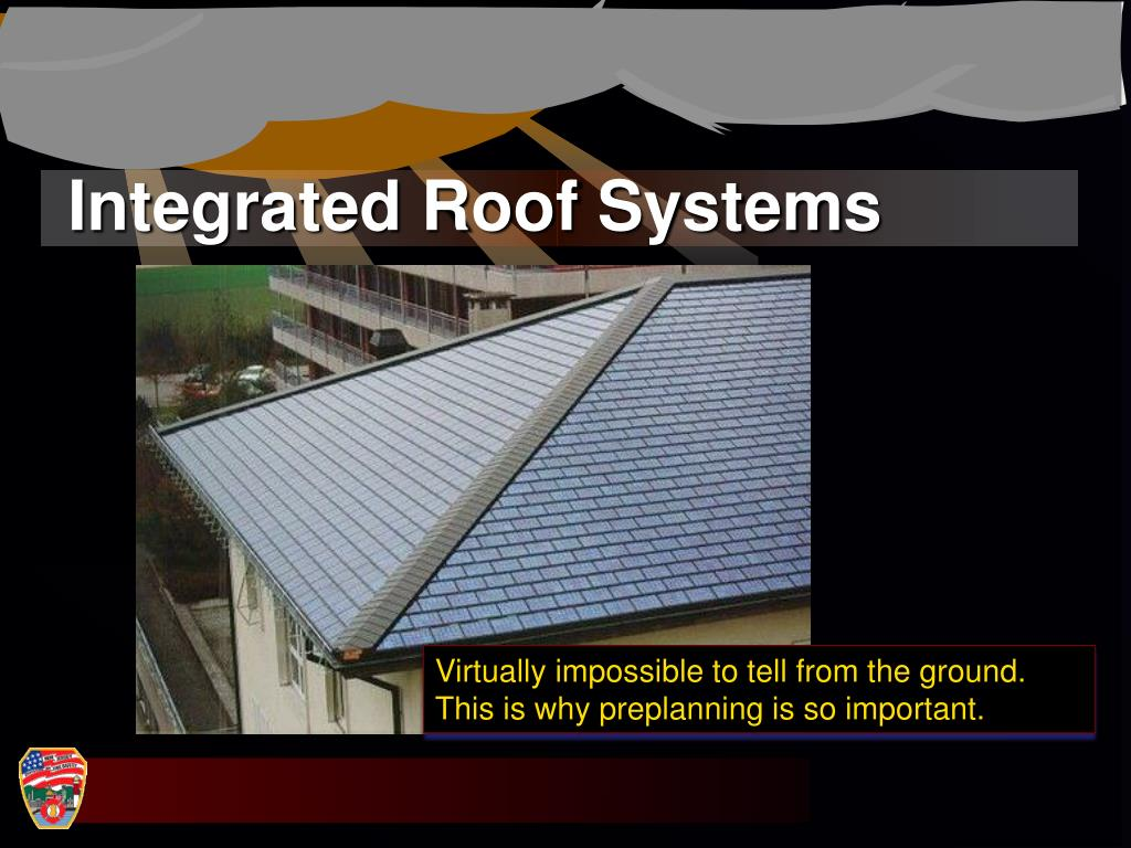 Integrated Roof Systems