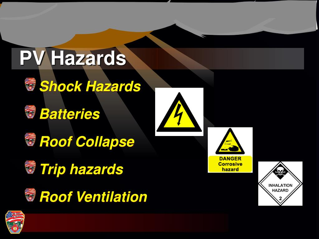 PV Hazards