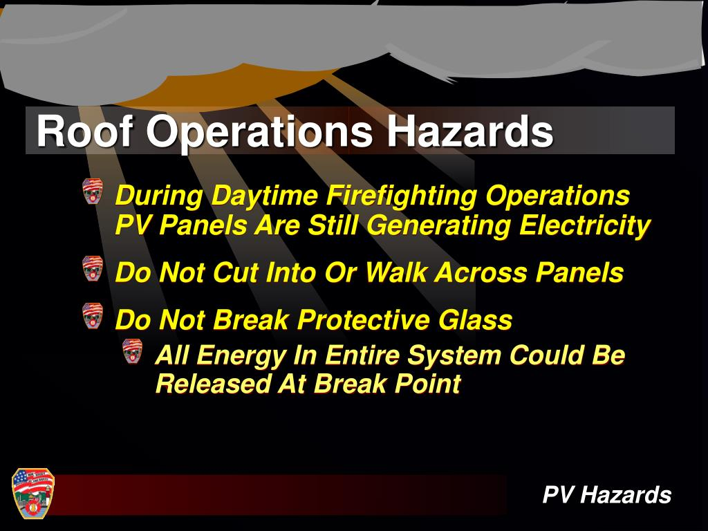 Roof Operations Hazards
