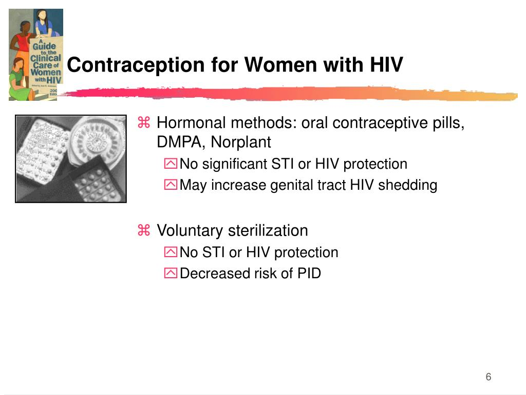 Contraception for Women with HIV