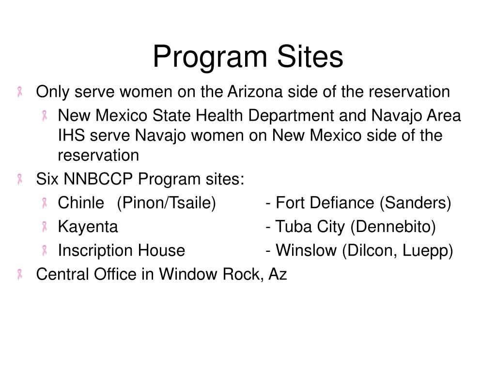 Program Sites