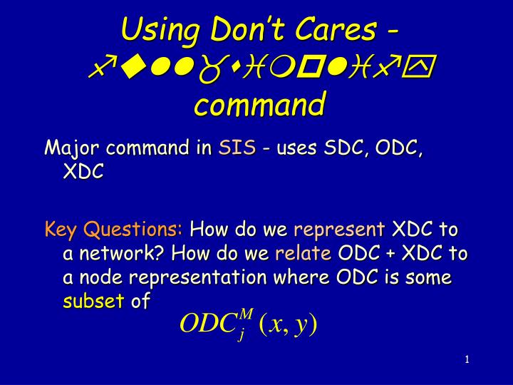 Using don t cares full simplify command l.jpg